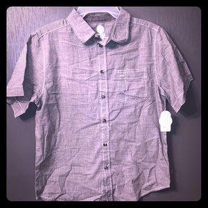 NEW Boys Wonder Nation Button Down Top XXL 18
